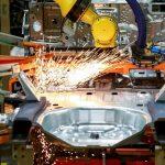 ماه گذشته کارخانه های ایالات متحده رشد کندتری داشتند.  شاخص به 57.5 می رسد